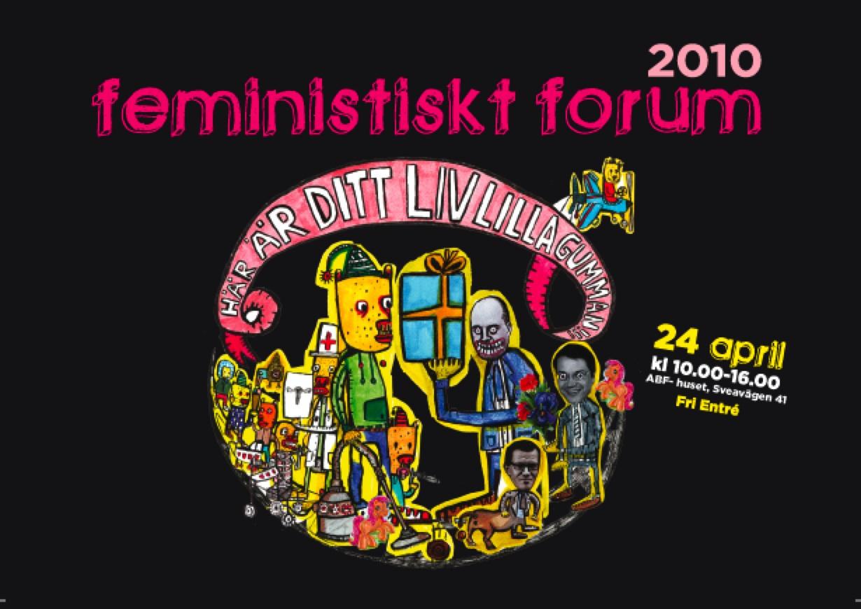 Feminismens plats i akademin? Forum på Feministiskt Forum 24/4 2010